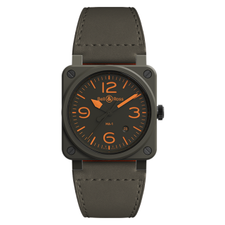 Bell & Ross ベル&ロス インストゥルメント BR03-92 MA-1 限定999本 BR0392-KAO-CE/SCA