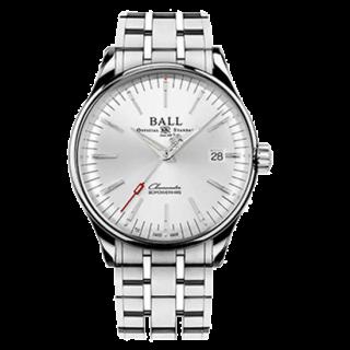 【日本未入荷品期間限定販売】BALL WATCH ボールウォッチ トレインマスター マニュファクチュア 80 NM3280D-S1CJ-SL