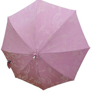 日傘 (ピンク/ pink) 桜色に波紋