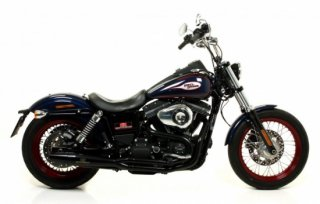 RED THUNDER EXHAUST   Dyna FULL 2:1 Exhaust