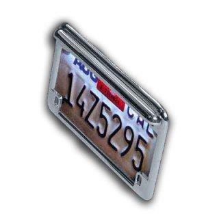 Motorcycle License White Light bar
