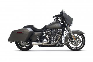 Touring Comp-S Shorty 2-1 Full System (2017-18 Milwaukee Eight)
