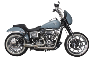 HD Dyna(06-17) Shorty Turnout Exhaust SS