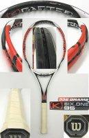 【中古テニスラケット】W0502 ウイルソン [K]シックスワン95 US [K]SIX-ONE95US