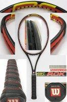 【中古テニスラケット】W0524 ウイルソン プロスタッフ ロック ミッドプラス  Prostaff ROK MIDPLUS
