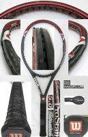 【中古テニスラケット】W0643 ウイルソン ハイパープロスタッフ5.0 ストレッチ ミッドプラス HYPER Prostaff 5.0 Stretch
