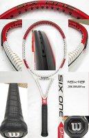 【中古テニスラケット】W0788 ウイルソン SIX.ONE 95 US (16×18) 値下げしました【H27/09/01】