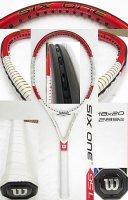 【中古テニスラケット】W0791 ウイルソン SIX.ONE 95L (18×20)海外モデル 値下げしました【H27/09/01】