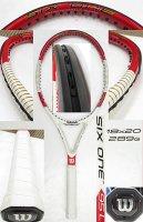 【中古テニスラケット】W0792 ウイルソン SIX.ONE 95L  (18×20)海外モデル 値下げしました【H27/09/01】