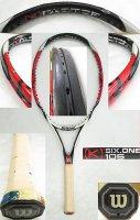 【中古テニスラケット】W0817 ウイルソン [K]SIX-ONE105