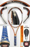 【中古テニスラケット】W0849 ウイルソン nツアーTWO/105 値下げしました【H27/08/24】