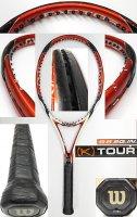 【中古テニスラケット】W0850 ウイルソン [K]ツアー95