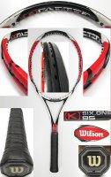 【中古テニスラケット】W0852 ウイルソン [K]SIX-ONE95