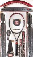 【中古テニスラケット】W0941 ウイルソン ハイパープロスタッフ5.0ストレッチMP