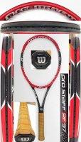 【中古テニスラケット】W1032 ウイルソン プロスタッフRF97