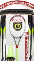 【中古テニスラケット】W1056 ウイルソン スチーム100 〜値下げしました【H29/09/20】〜