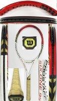 【中古テニスラケット】W1066 ウイルソン プロスタッフ SIX.ONE95 〜値下げしました【R1/06/02】〜
