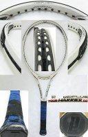 【中古テニスラケット】P0454 プリンス ツアーハリアーDB ミッドプラス TOUR HARRIER DB MIDPLUS