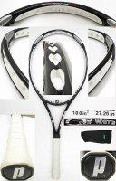 【中古テニスラケット】P0526 プリンス オースリーXFホワイト O3 XF WHITE
