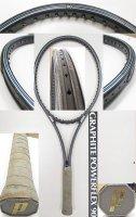 【中古テニスラケット】P0605 プリンス グラファイト パワーフレックス90 値下げしました【H29/11/26】