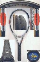 【中古テニスラケット】D0060 ダンロップ リムブレード バリアード RIMBREED BARRIERD