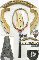【中古テニスラケット】VI-0013  ドネー ALLWOOD BJORN BORG