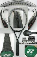 【中古テニスラケット】Y0272 ヨネックス V−CON17/100 V-CON17/100