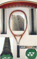 【中古テニスラケット】Y0122 ヨネックス RQチタニウム26 (ジュニア用)