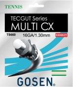 【ストリング+張り代セットで20%OFF】ゴーセン テックガットマルチCX16 【TECGUT MULTI  CX16】