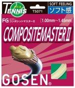 【ストリング+張り代セットで20%OFF】ゴーセン コンポジットマスター2 【COMPOSITEMASTER2】