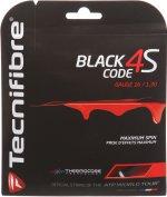 【ストリング+張り代セットで20%OFF】テクニファイバー ブラックコード4S 1.30 【BLACK CODE 4S 1.30】