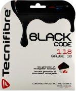 【ストリング+張り代セットで20%OFF】テクニファイバー ブラックコード1.18 【BLACK CODE1.18】