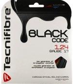 【ストリング+張り代セットで20%OFF】テクニファイバー ブラックコード1.24 【BLACK CODE1.24】