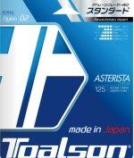 【ストリング+張り代セットで20%OFF】トアルソン アスタリスタ125 【ASTERISTA125】