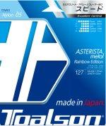 【ストリング+張り代セットで20%OFF】トアルソン アスタリスタメタル127  レインボーエディション 【ASTERISTA METAL127】