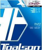 【ストリング+張り代セットで20%OFF】トアルソン  ティーエヌティーツー120 【TNT2・120】