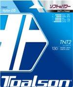 【ストリング+張り代セットで20%OFF】トアルソン  ティーエヌティーツー130 【TNT2・130】