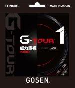 【ストリング+張り代セットで20%OFF】ゴーセン G-ツアー1・1.25  【G-TOUR1・1.25】