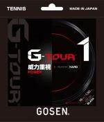 【ストリング+張り代セットで20%OFF】ゴーセン G-ツアー1・1.30  【G-TOUR1・1.30】
