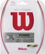 【ストリング+張り代セットで20%OFF】ウイルソン NXTパワー16【NXT POWER16】
