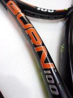 【中古テニスラケット】 W1378 ウイルソン バーン100