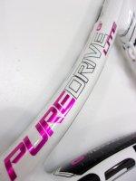【中古テニスラケット】BA0935 バボラ ピュアドライブ ライト ピンク(2014年)