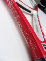 【中古テニスラケット】 W1385 ウイルソン nSix One Tour Federer【限定2000本】〜値下げしました【R3/6/6】〜