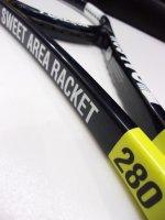 【中古テニスラケット】OT0364 トアルソン スウィートエリアラケット280(練習用ラケット)