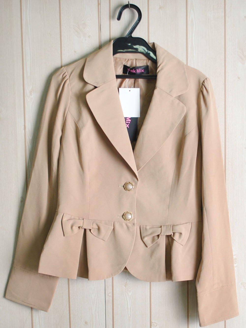 【99.9%OFF】@1円■5枚セット■リボンデザインジャケット