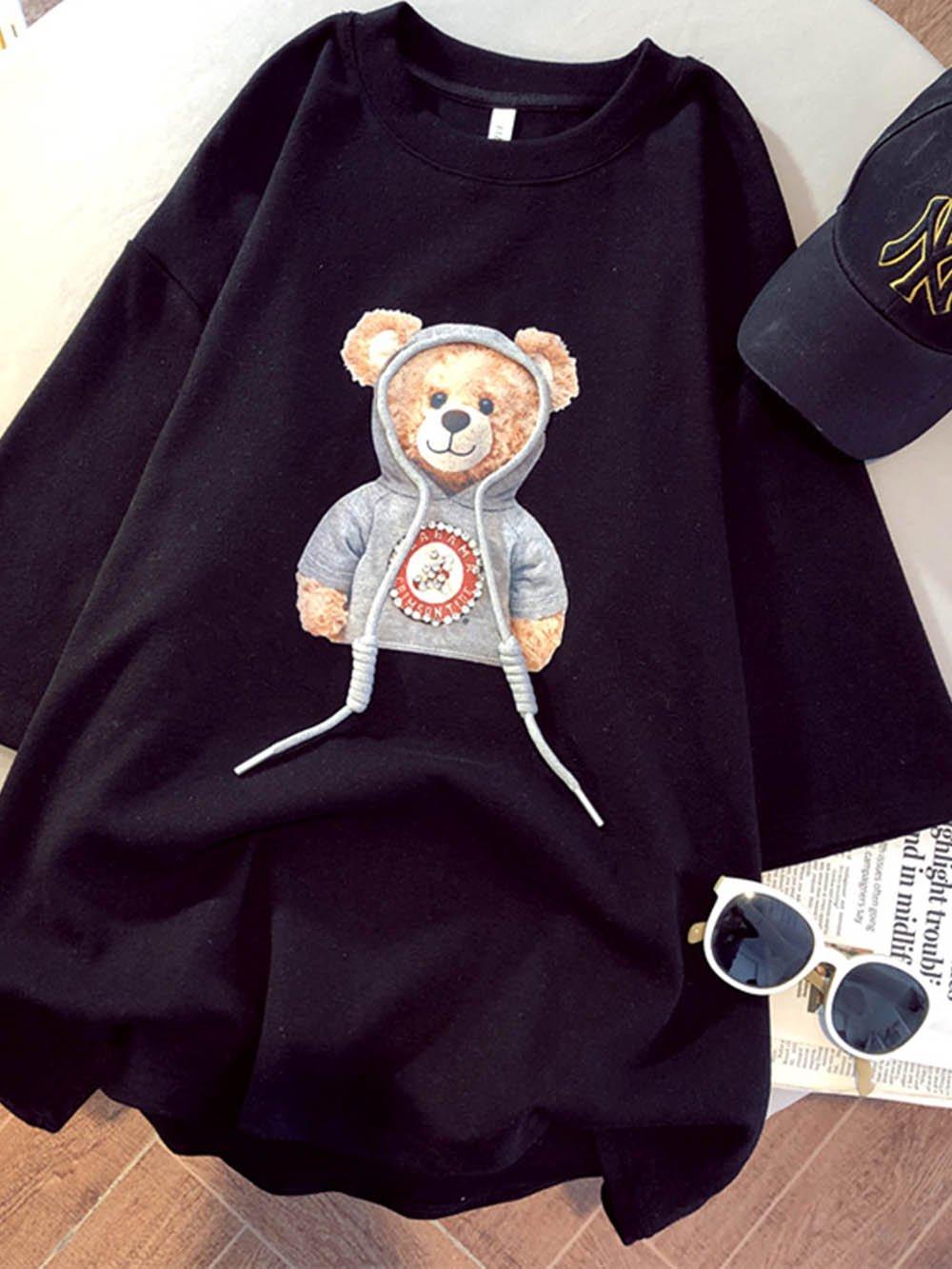 【広州仕入れ】半袖テディTシャツ
