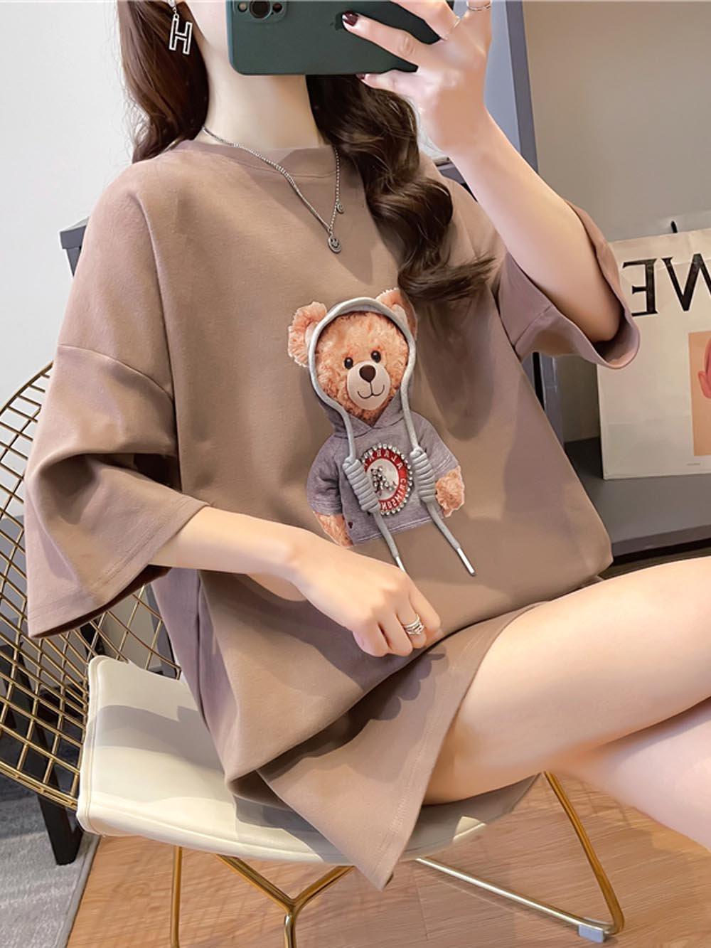 【広州仕入れ】半袖テディTシャツ新色