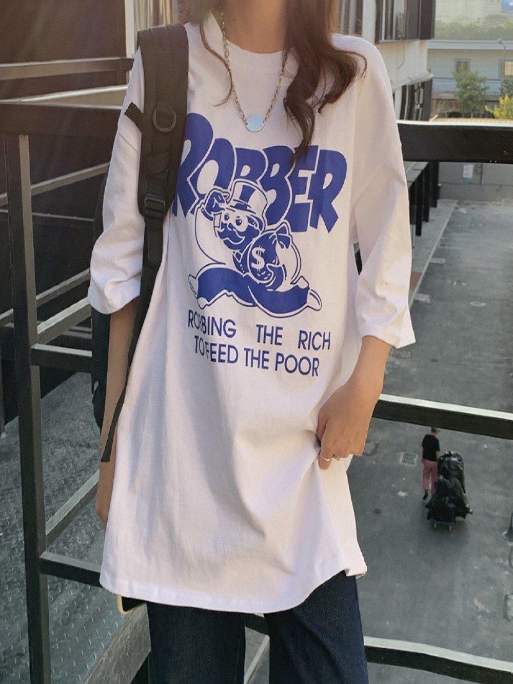 【広州仕入れ】レトロ半袖Tシャツ