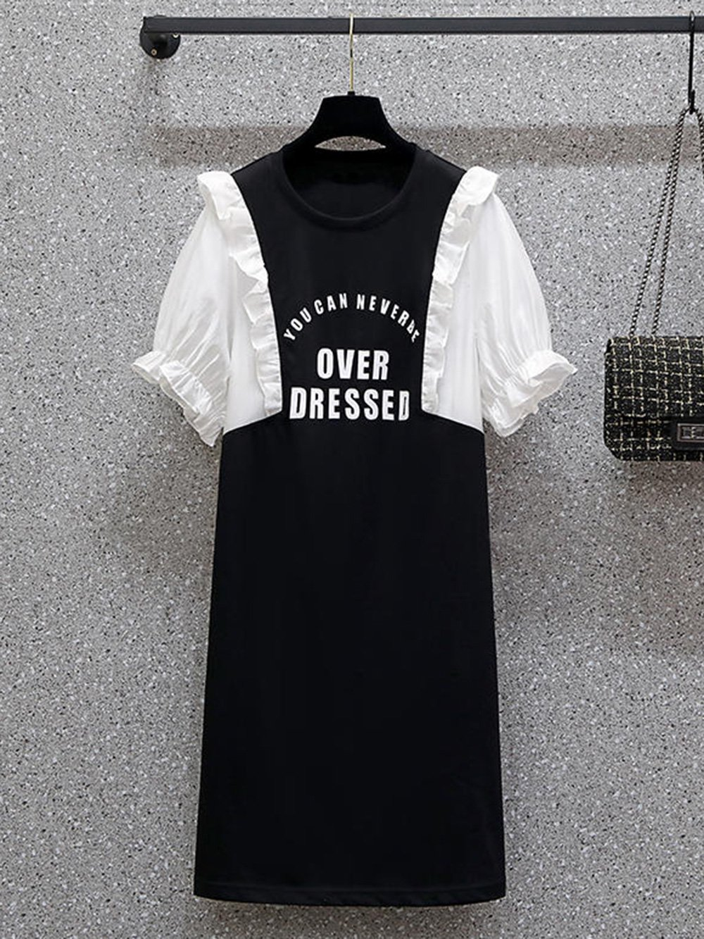 【広州仕入れ】プリントドレス