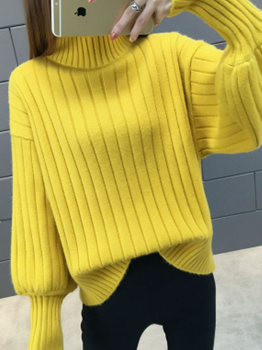 【広州仕入れ】タートルネックセーター